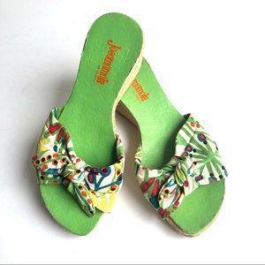 Vintage Sexy Jocomomola Wedge Sandal 6